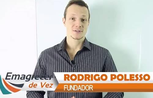 Rodrigo polesso autor do Livro emagrecer de vez