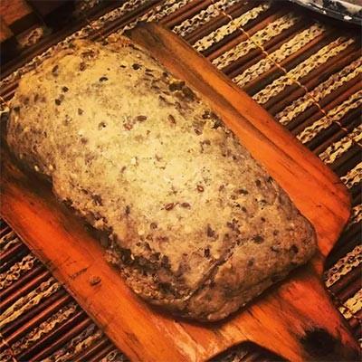receita de pão de linhaça