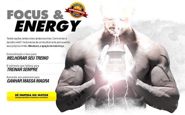 Suplemento de energia e explosão musculoar