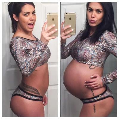 saudavel antes e depois da gravidez