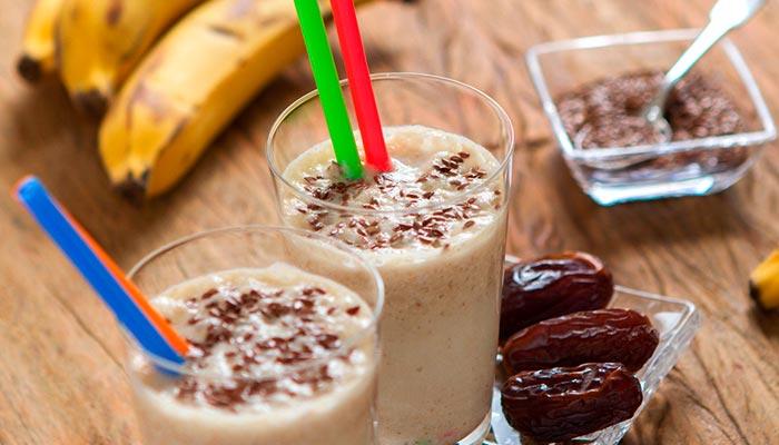 Shake-para-emagrecer-de-ameixa-e-banana