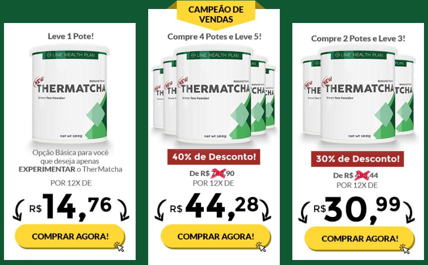 Thermatcha é um suplemento alimentar em forma de chá diurético 100% natural,