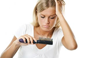 queda de cabelo feminino