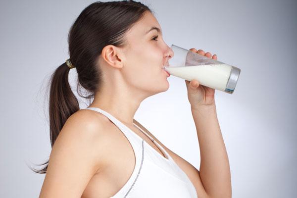 emagrecer tomando leite