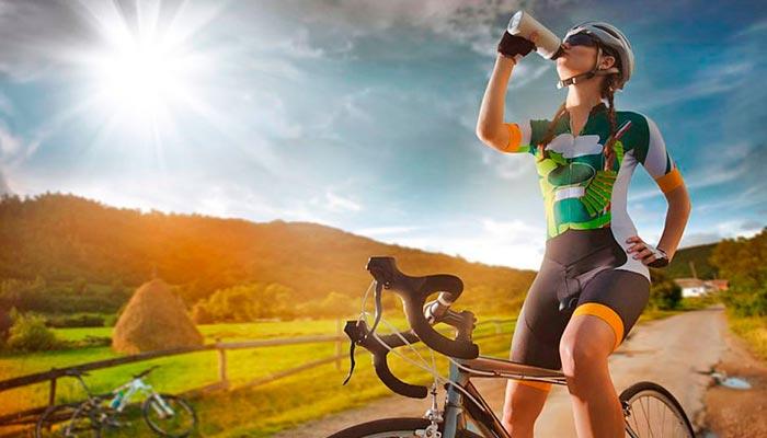 agua essencial nos esportes