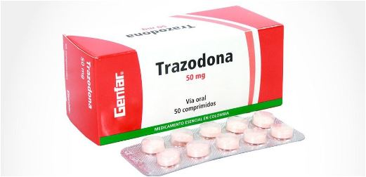 Remédio trazodona