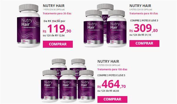 Nutry Hair como comprar